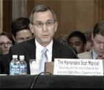 Date: 07/15/2009 Description: Statement by Deputy Assistant Secretary for East Asian and Pacific Affairs Scot Marciel before the Senate Foreign Relations Committee, Subcommittee on East Asian and Pacific Affairs on Maritime Issues and Sovereignty Disputes in East Asia. © Senate Image from Video