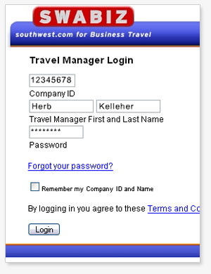 Create your own personal login