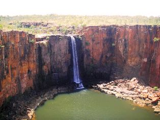 Waterfall, Berkley River North Kimberley: