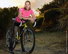 For Barb Howe, when the light changes... it's 'cross time.