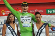 Andre Greipel won the points classification in the Vuelta.