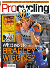 Pro Cycling magazine cover