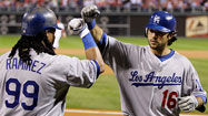 Dodgers-Phillies: Game 5 in Pictures