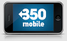 350mobile iPhone app
