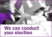 We can conduct your election