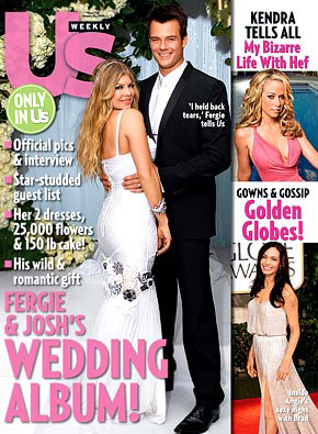 fergie josh b 2 Fergie and Josh Duhamel Rocking Wedding Pictures