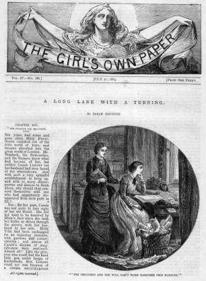 Girl's Own Paper - A Long Lane with a Turning