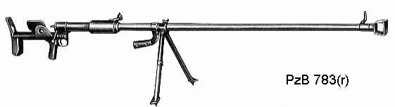 PzB 783(r) - russian PTRD-40 tank rifle