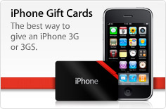 iPhone Gift Cards. The best way to give an iPhone 3G or 3GS. Shop now.