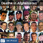 Britons killed in Afghanistan