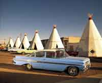 driving by the Wigwam Motel