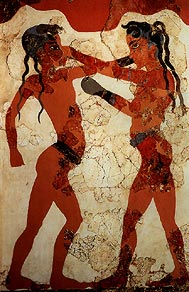 Ancient Olympic Boxing