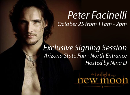 movin975 Win Tickets to the Arizona State Fair! Peter Facinelli will be there!