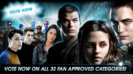 sscreem Twilight Nominated for 10 of Spike TVs Scream Awards