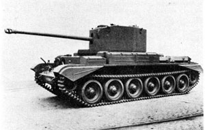 Picture of the Cruiser Tank Mk VIII Challenger A30