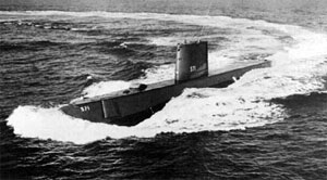 Picture of the USS Nautilus (SSN 571)