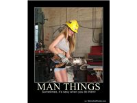 MAN THINGS - Sometimes, it's sexy when you do them!