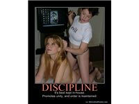 DISCIPLINE - It's best kept in-house.