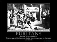 PURITANS - Are now running MotPhot.