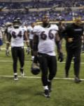 Ravens Colts Football - Edgar Jones, Ben Grubbs