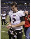 Ravens Colts Football - Joe Flacco