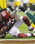 Packers Cardinals Football - Early Doucet, Atari Bigby