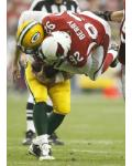 Packers Cardinals Football - Aaron Rodgers, Bertrand Berry