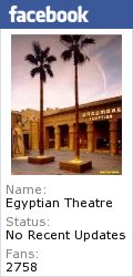 Egyptian Theatre's Facebook Page