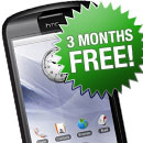 3 Months Free on HTC Magic