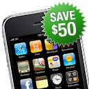 Save $50 on an iPhone