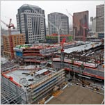 Huge Project Renews Downtown, and Debate