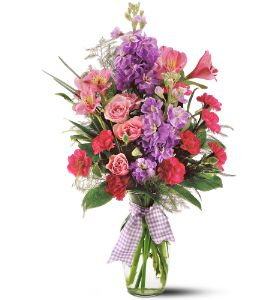 Teleflora's Fragrance Vase in Auburn NY, Smiley's Town & Country Florist