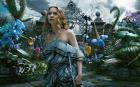 Tim Burton weaves a magical spell with Alice in Wonderland through the 3D glasses