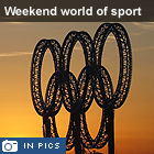 Vancouver harbour - The weekend world of sport in pictures
