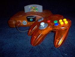 Nintendo 64 in Atomic Orange
