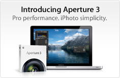 Introducing Aperture 3. Pro performance. iPhoto simplicity.