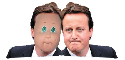 David Cameron - Cabbage Patch Doll