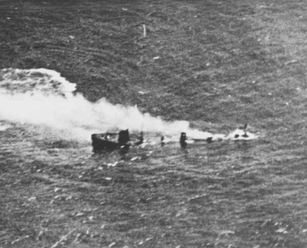End of G-102 [sinking].