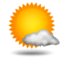 Current Conditions: A Few Clouds