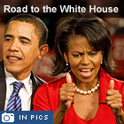 Barack Obama: The road to the White House