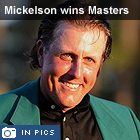 Masters 2010: Phil Mickelson triumphs - in pictures