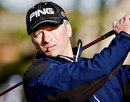 Steve Waugh plays golf at the Alfred Dunhill Golf Championship, Carnoustie, Scotland, October 4, 2009