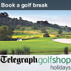 Telegraph Golf Shop Holidays