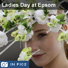 Ladies Day at Epsom Derby