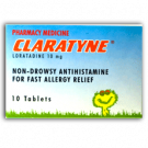 CLARATYNE TABLETS 10mg - 10 Tablets