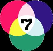 สัญลักษณ์ บริษัท กรุงเทพโทรทัศน์และวิทยุ จำกัด และ สถานีโทรทัศน์สีกองทัพบกช่อง 7