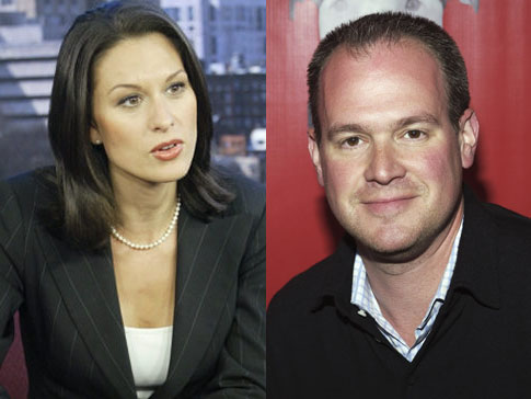 Flirty e-mails between newscaster Alycia Lane and married NFL Network sportscaster Rich Eisen may hurt Lane in her suit against CBS for wrongful termination.