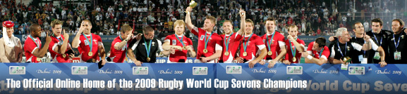 The Online home of the 2009 Rugby World Cup Sevens Champions