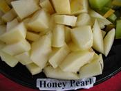 Honey Pearl Melon sliced