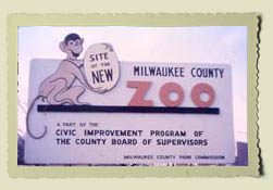 Image of Milwaukee County Zoo sign